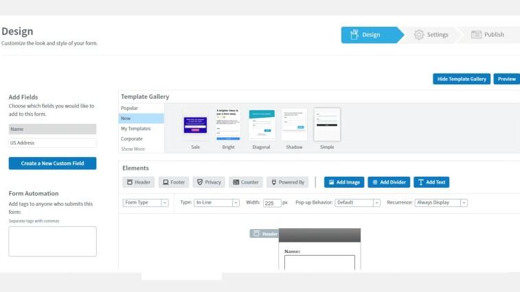 Sign-up form builder in AWeber: Content- GetResponse Vs. AWeber.