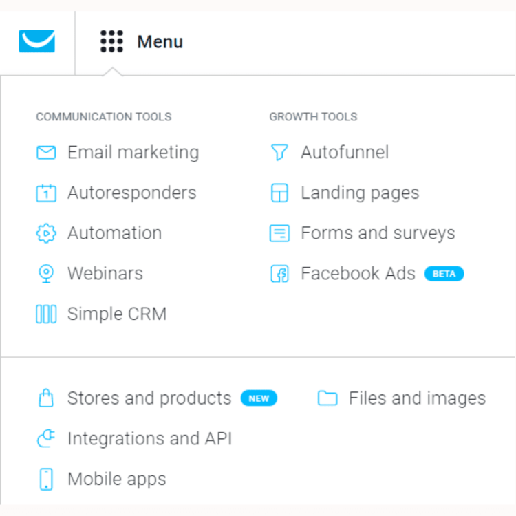 Other cool features of GetResponse.