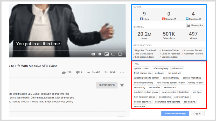 Rank Your YouTube Videos: Use Tags For Suggested Content.