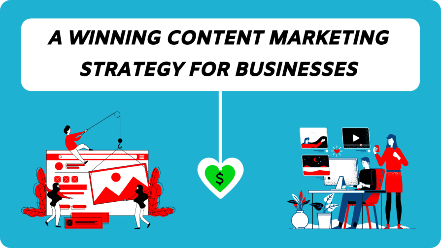 A Winning Content Marketing Strategy For Your Business.