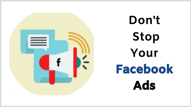 Avoid Dropshipping Mistakes - Don't Stop Your Facebook Ads