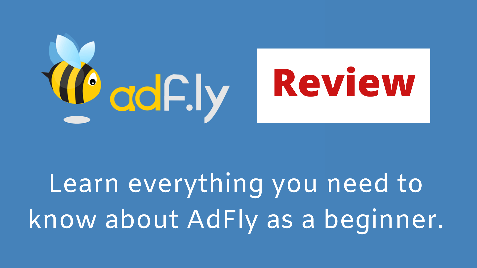 Adfly review: Adf.ly URL shortner