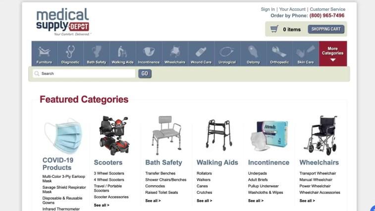 medical supply depot affiliate