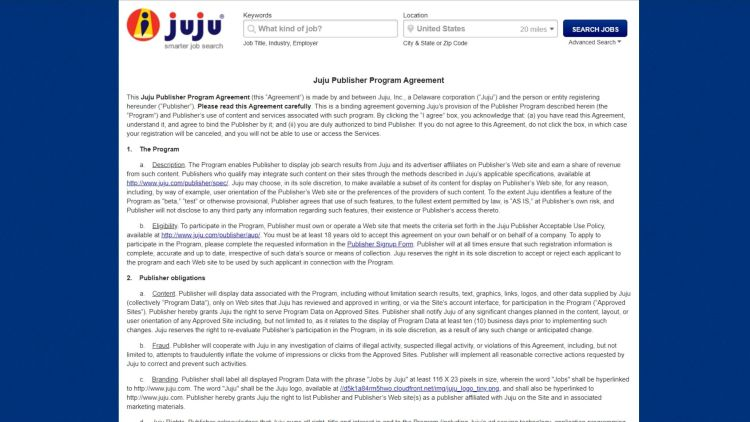 Job Search Affiliate Programs