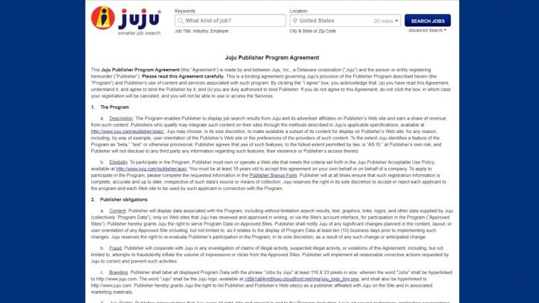 Job Search Affiliate Programs