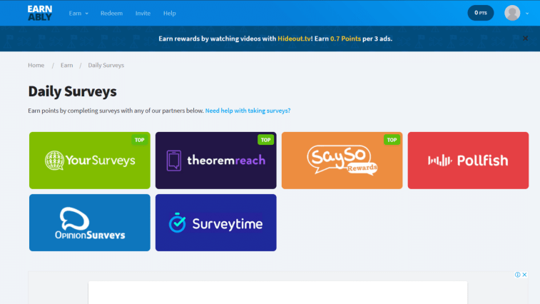 Earnably Review: Is it a scam survey website?