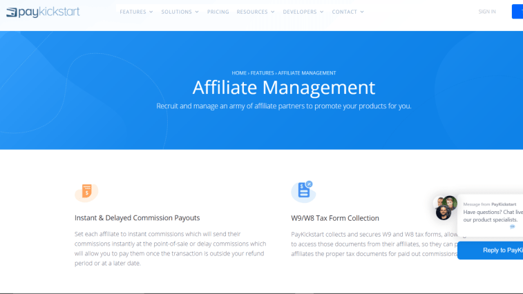PayKickstart: Affiliate Programs That Pay Daily