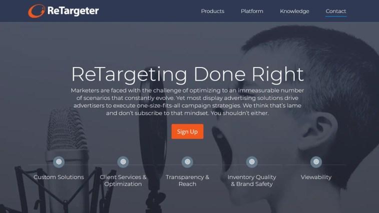ReTargeter : Alternative to AdRoll