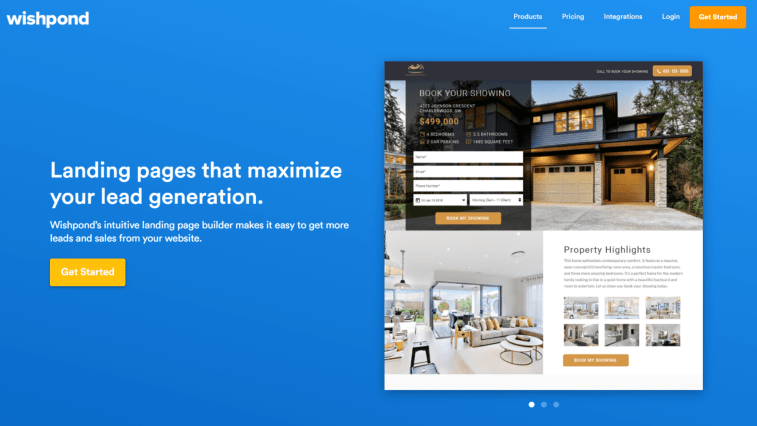 Leadpages Alternatives: Wishpond