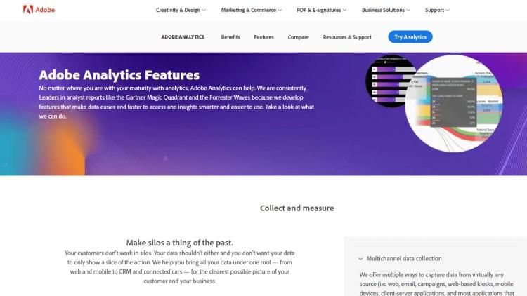 Kissmetrics Alternatives: Adobe Analytics