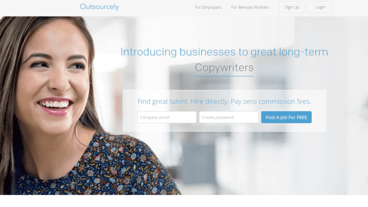 Outsourcely - iWriter alternative