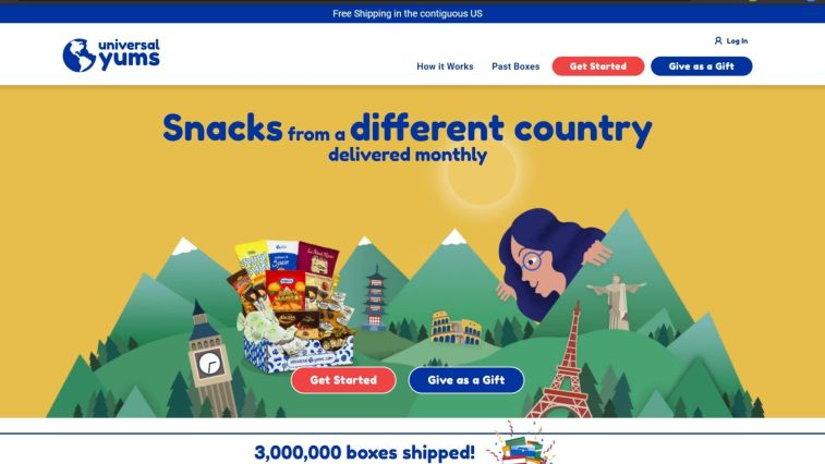 Universal Yums Affiliate