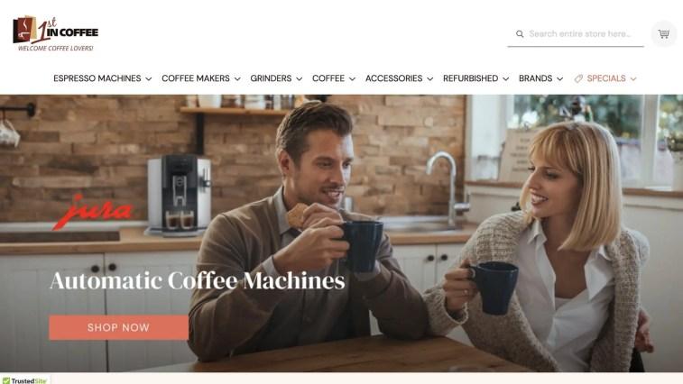 1st in Coffee Affiliate Program