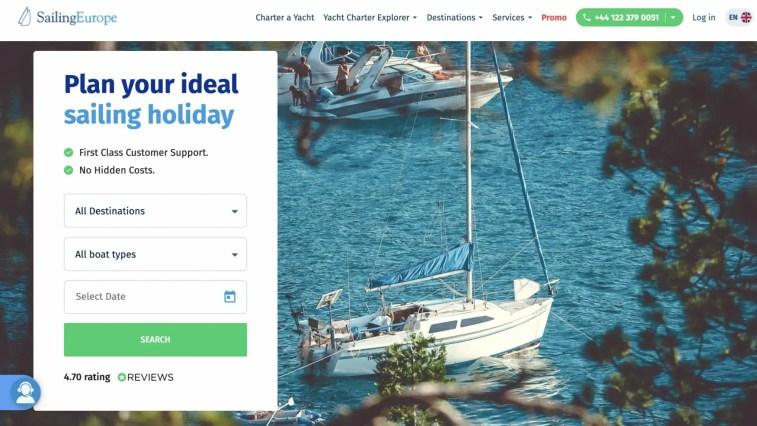 Sailingeurope Affiliate Program