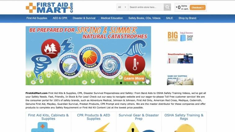 FirstAidMart.com Affiliate Program