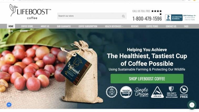 Lifeboost Coffee Affiliate Program