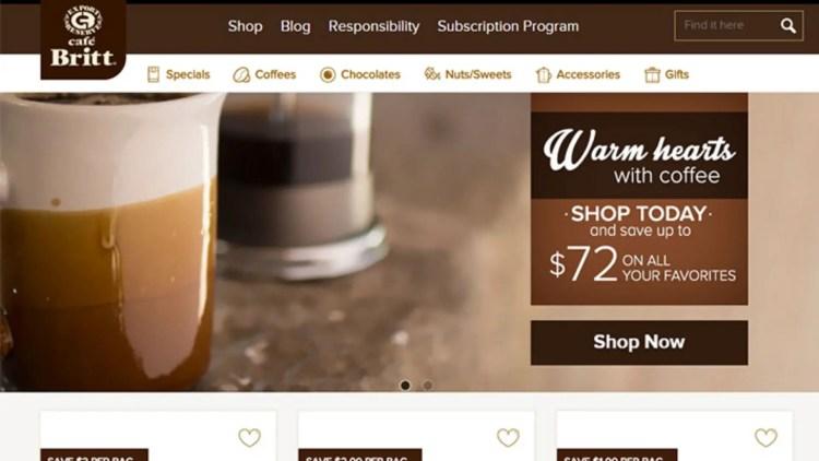 Cafe Britt Affiliate Program