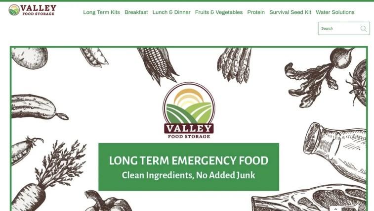 Valley Food Storage Affiliate Program