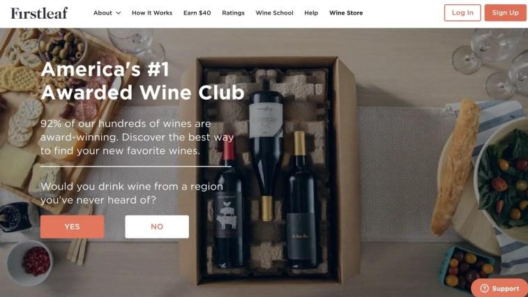 Firstleaf Wine Club Affiliate Program