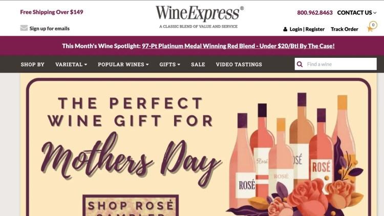 Wine Express Affiliate Program