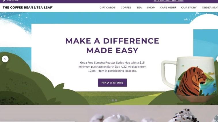 Coffee Bean & Tea Leaf Affiliate Program
