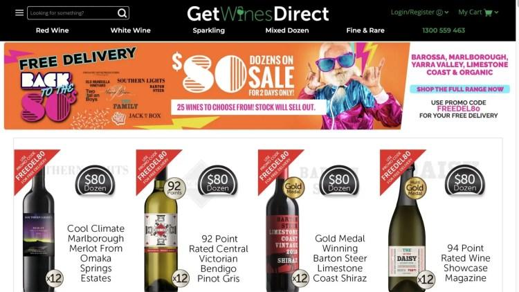Get Wines Direct Affiliate Program