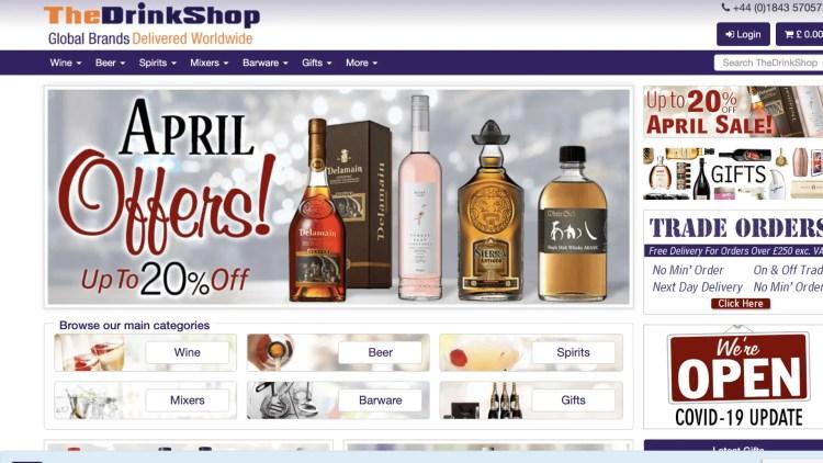 The Drink Shop affiliate program