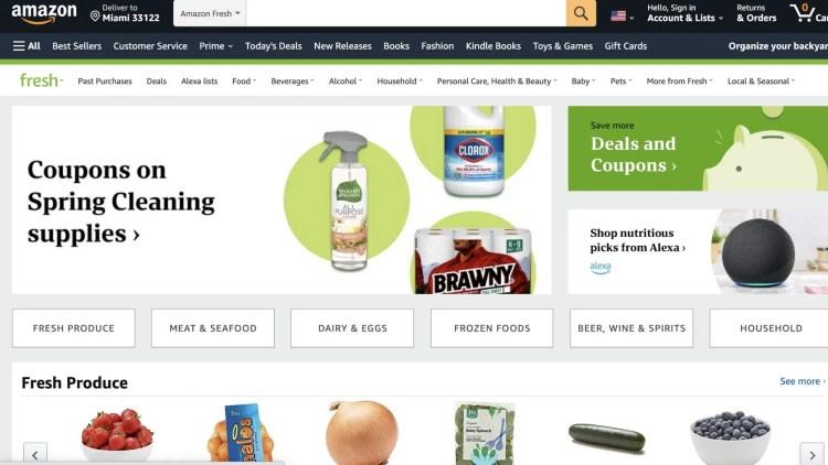 Amazon Fresh grocery affiliate