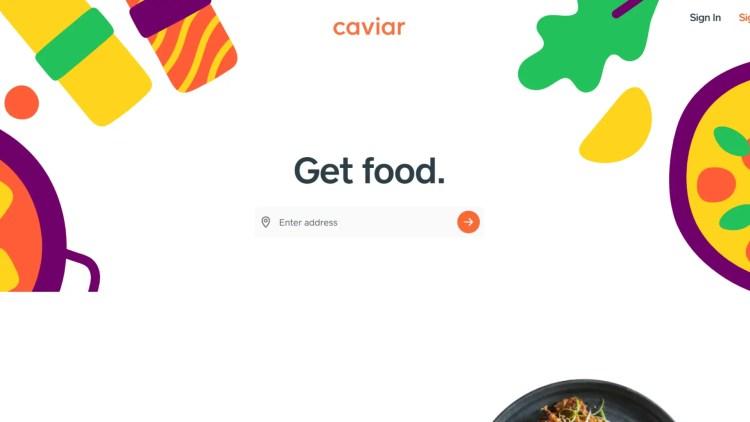 Best food delivery app affiliate programs: Caviar