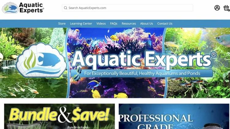 aquarium affiliate programs: Aquatic epxerts