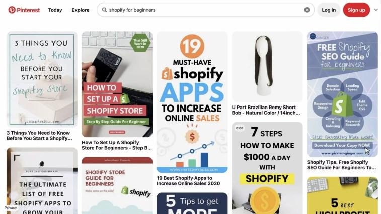 Promoting Shopify Through Pinterest Marketing