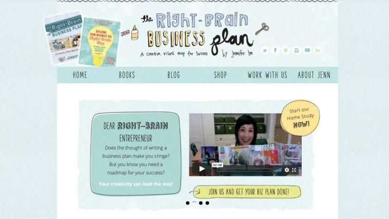 Right Brain Business Plan affiliate program