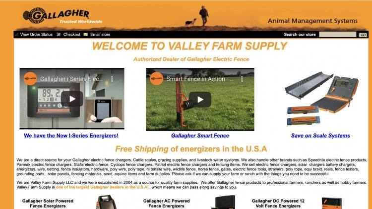 Valley Farm Supply affiliate
