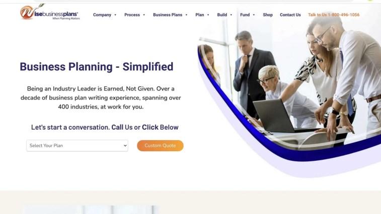Wise Business Plans affiliate program
