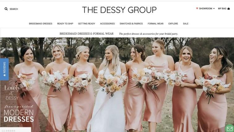 The Dessy Group wedding affiliate program