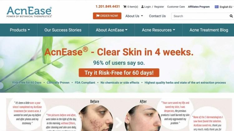 AcnEase affiliate program