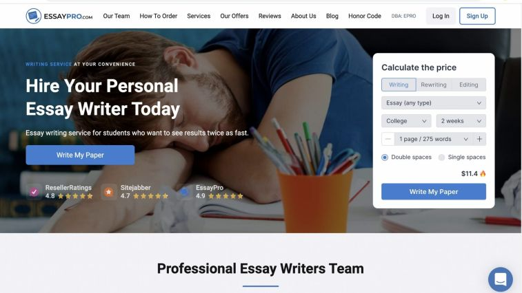 EssayPro: HireWriter alternatives