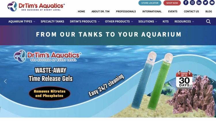 Dr. Tim's Aquatics affiliate program