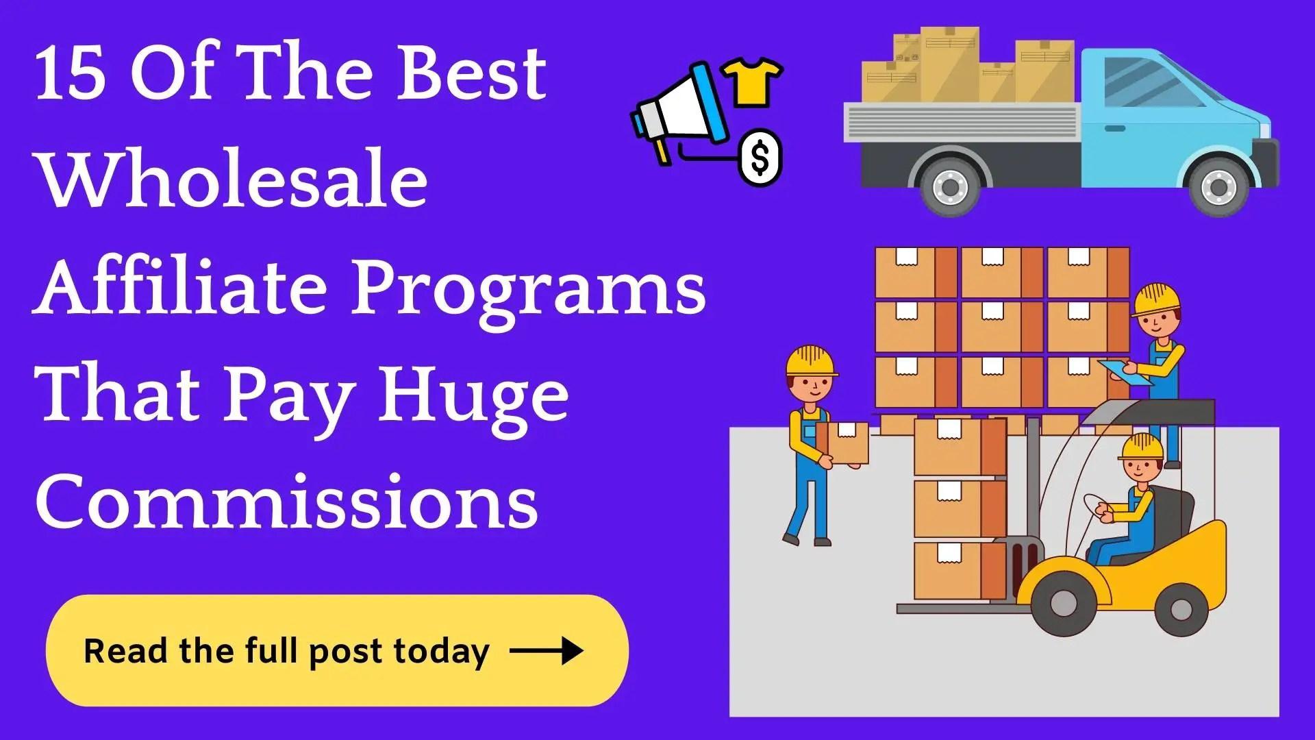 Best Wholesale Affiliate Programs