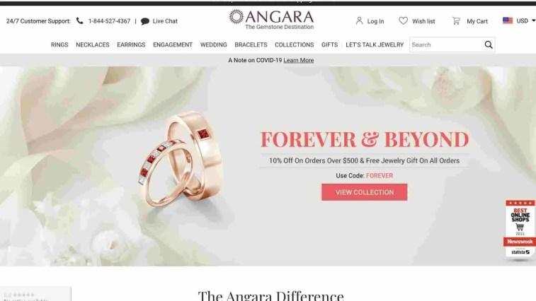 Angara Jewelry affiliate program