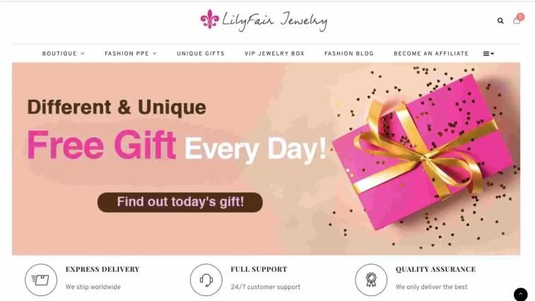 LilyFair affiliate program