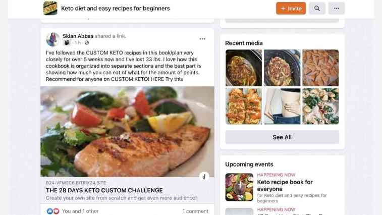 Affiliate marketing on Facebooks (groups)