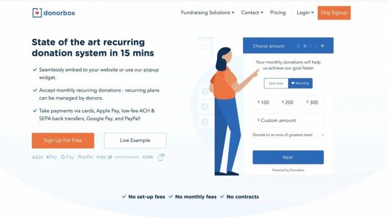 Donorbox affiliate program