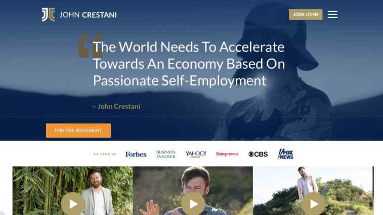 Who is John Crestani