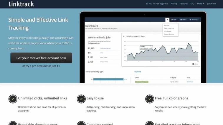 LinkTrack.info: clickmagick alternatives