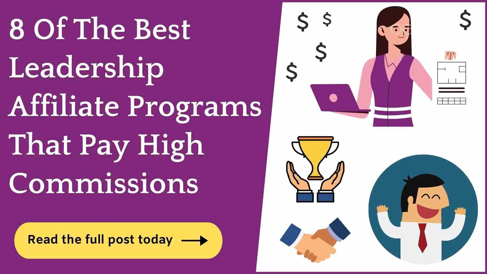 Best Leadership Affiliate Programs
