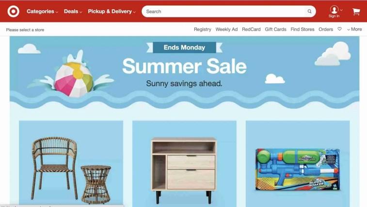 Target affiliate: Amazon alternative