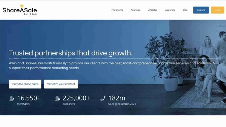 ShareASale: Amazon Associates Alternatives