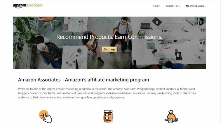 Amazon Associates Alternatives instant approval