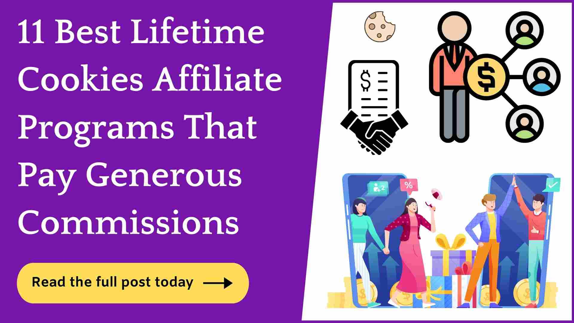 lifetime cookies affiliate programs